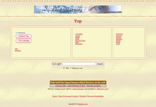 Website 0directory.com desktop preview
