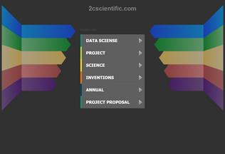 Website 2cscientific.com desktop preview