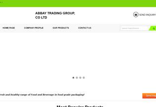 Website abbaytradinggroup.net desktop preview