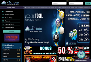 Website abctoto.me desktop preview
