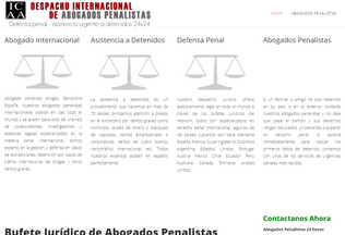 Website abogado-penalista.co desktop preview