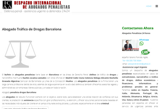 Website abogadotraficodrogas.es desktop preview