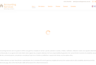 Website accountingservicesmalta.it desktop preview
