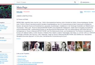 Website achimlipp.de desktop preview