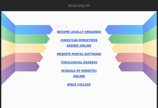 Website acucorp.in desktop preview
