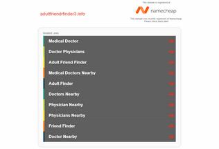 Website adultfriendrfinder3.info desktop preview