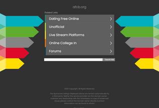 Website afcb.org desktop preview