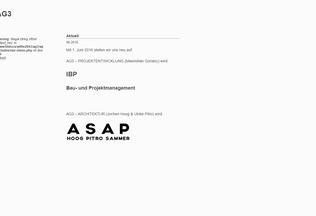 Website ag3.eu desktop preview