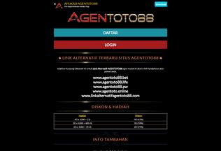 Website agentoto.org desktop preview