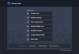 Website aic-pro.com desktop preview