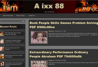 Website aixx88.pw desktop preview