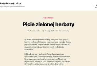 Website akademiarozwoju.info.pl desktop preview