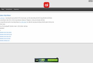 Website akulakuvn.xtgem.com desktop preview