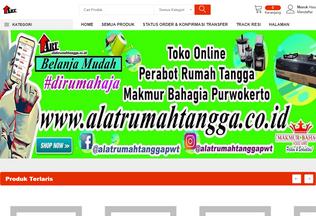 Website alatrumahtangga.co.id desktop preview