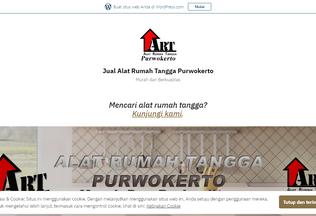 Website alatrumahtanggapwt.wordpress.com desktop preview