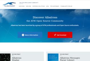 Website albatross.aero desktop preview