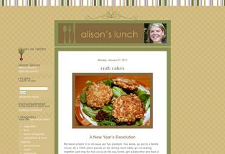 Website alisonslunch.com desktop preview
