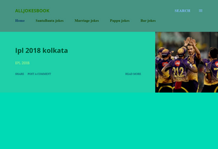 Website alljokesbook.blogspot.in desktop preview