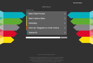 Website alltricks.in desktop preview