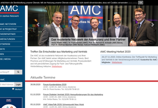 Website amc-forum.de desktop preview