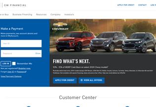 Website americredit-online.info desktop preview