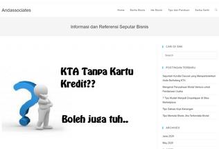 Website andassociates.biz desktop preview