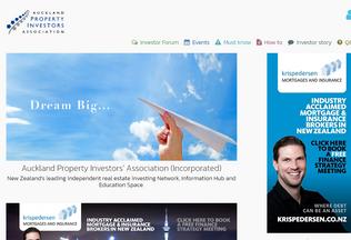 Website apia.org.nz desktop preview