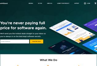 Website appsumo.com desktop preview