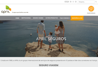 Website aprilbrasil.com.br desktop preview