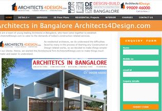Website architects4design.com desktop preview