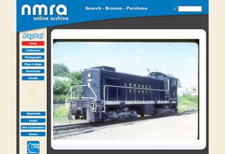 Website archive.nmra.org desktop preview