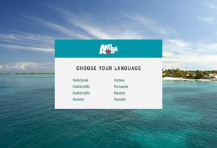 Website aruba.com desktop preview