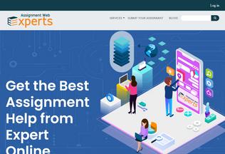 Website assignmentwebexperts.com desktop preview