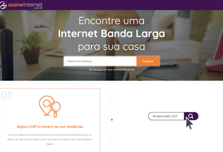 Website assineinternet.com.br desktop preview