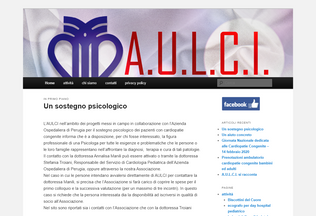 Website associazioneaulciumbria.it desktop preview
