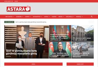 Website astarainfo.az desktop preview