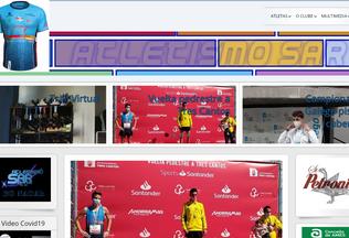 Website atletismosar.org desktop preview