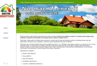 Website audytorenergetyczny.eu desktop preview