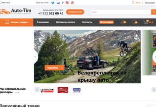Website auto-tim.ru desktop preview