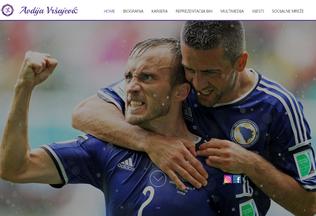 Website avdijavrsajevic.com desktop preview