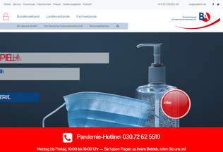 Website ba-forum.de desktop preview