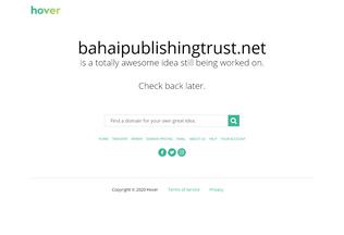 Website bahaipublishingtrust.net desktop preview