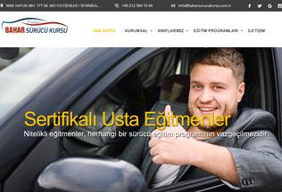 Website baharsurucukursu.com.tr desktop preview