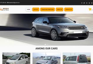 Website balalacarrent.co.tz desktop preview