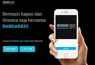 Website bandarkiu.cc desktop preview