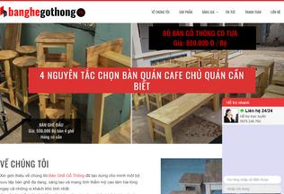 Website banghegothong.vn desktop preview