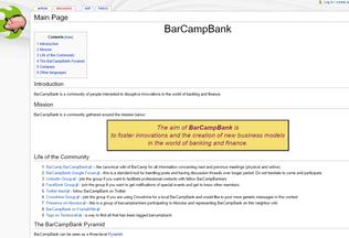 Website barcampbank.org desktop preview