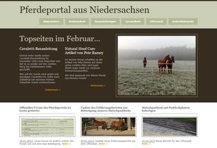Website barhufpflege-niedersachsen.de desktop preview