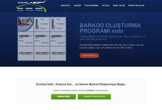 Website barkodyazdir.com desktop preview
