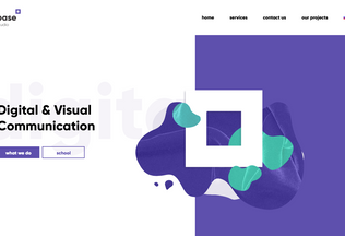 Website base.am desktop preview